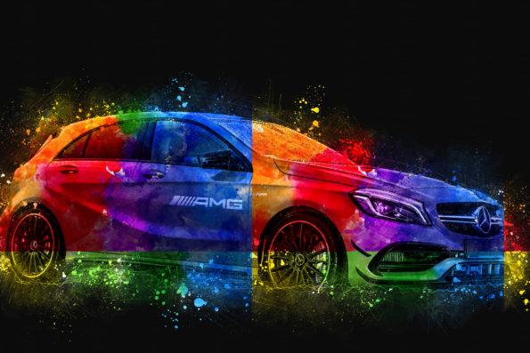 Fotografia motoryzacyjna , Mercedes-AMG